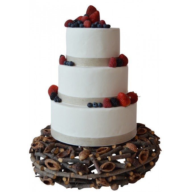 Support Wedding Cake A La Francaise