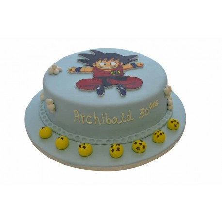 gateau d'anniversaire dragon ball