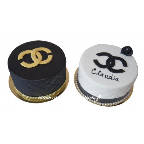 Gâteau style Chanel