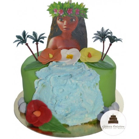 Gateau D Anniversaire Vaiana Gateau Creation Courbevoie Paris