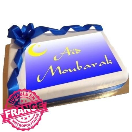 Gâteau photo Aid Moubarak