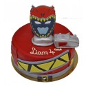 Gâteau d'Anniversaire Power rangers dino charge