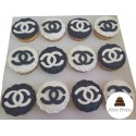 gateau chanel cupcake