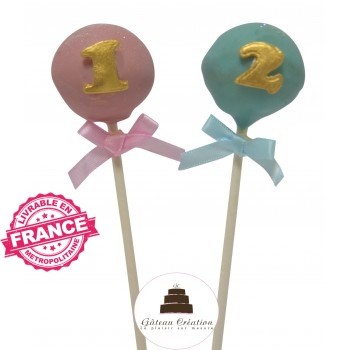 Cake pop Chiffre