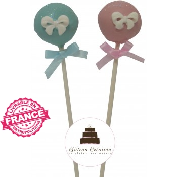 Cake pop petit noeud