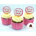 Cupcakes It's a girl