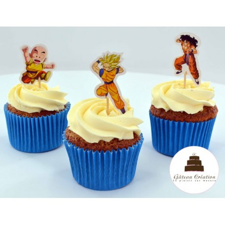Cupcakes dragon ball z
