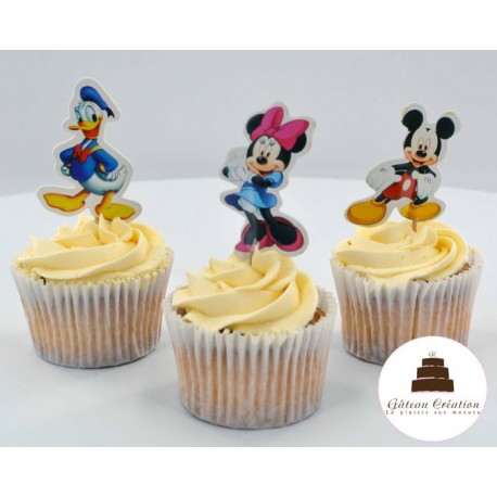 Cupcakes Mickey et ses amis