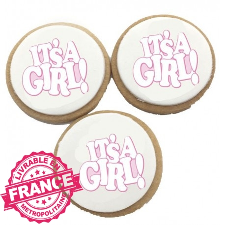 Biscuits Anniversaire It's a Girl