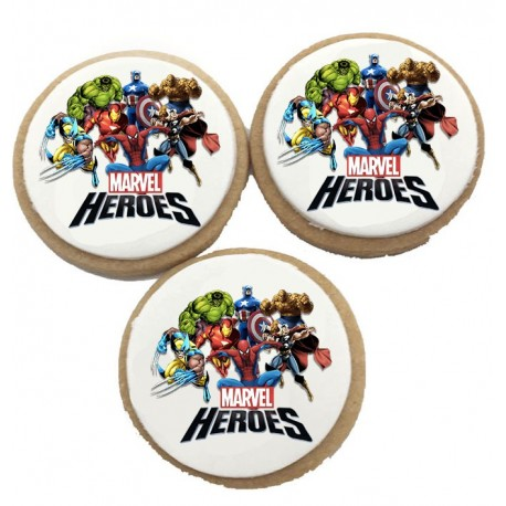 Biscuits Anniversaire Marvel