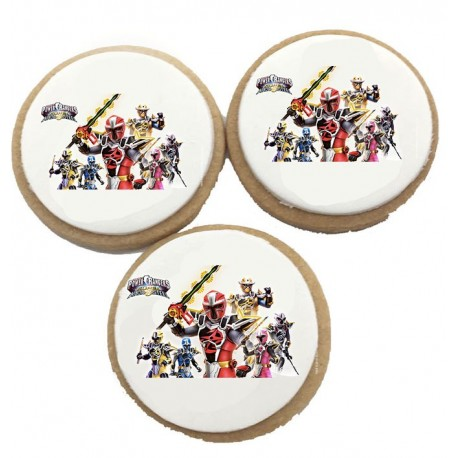 Biscuits Anniversaire Power Rangers