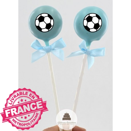 Cake pop Ballon Foot