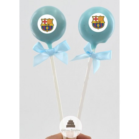 Cake pop club fc barça
