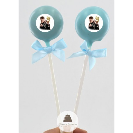Cake pop Harry Potter