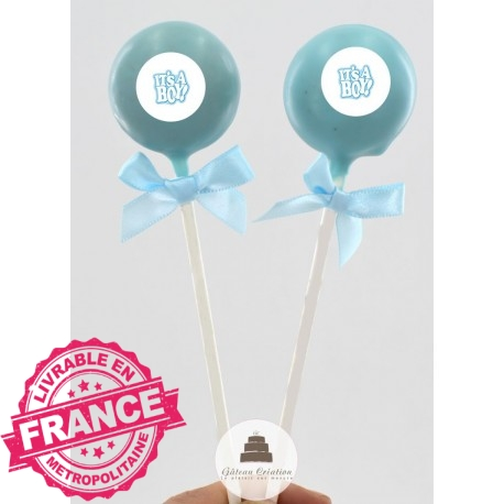 Cake pop It's a Boy