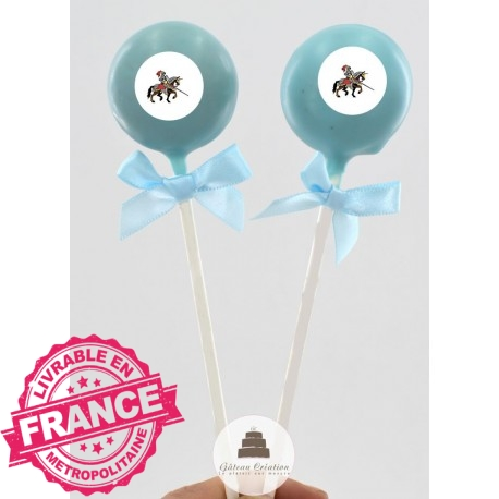 Cake pop les chevaliers