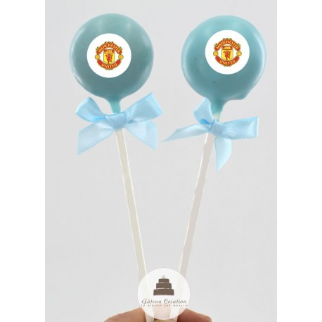 Cake pop Club Manchester United