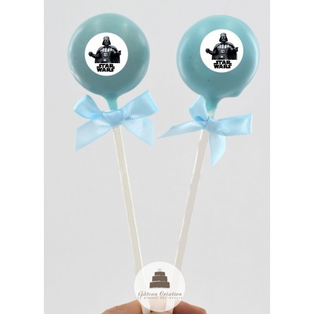 Cake pop Star Wars