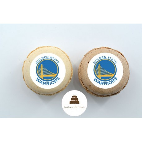 Macarons NBA Warriors de Golden State