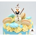 Drip cake Olaf - Click and collect