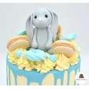 Drip cake petit lapin - Click and collect