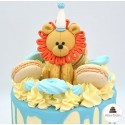 Drip cake lion du cirque - Click and collect