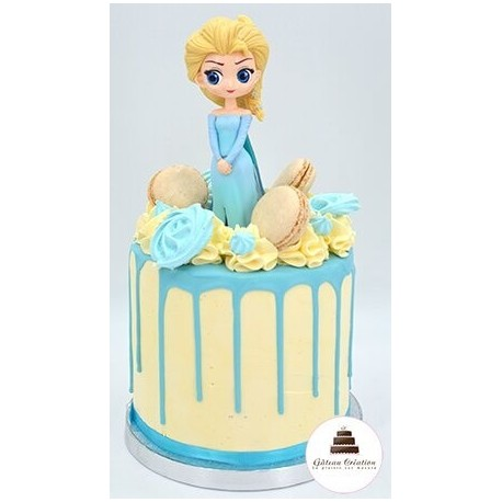 Drip cake Elsa - Click and collect