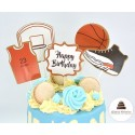 Drip cake Basket-ball - Click and collect