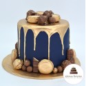 Drip cake luxe gourmand