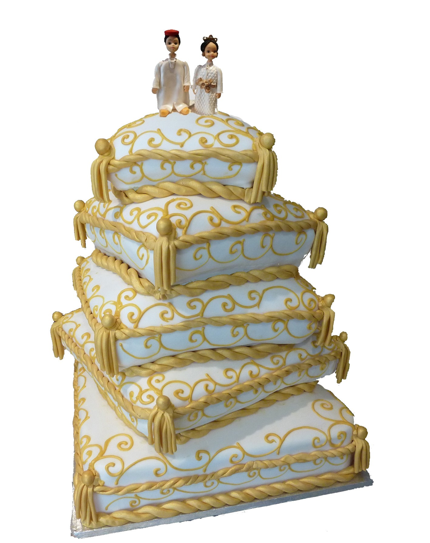 Image piece montee for Interieur wedding cake