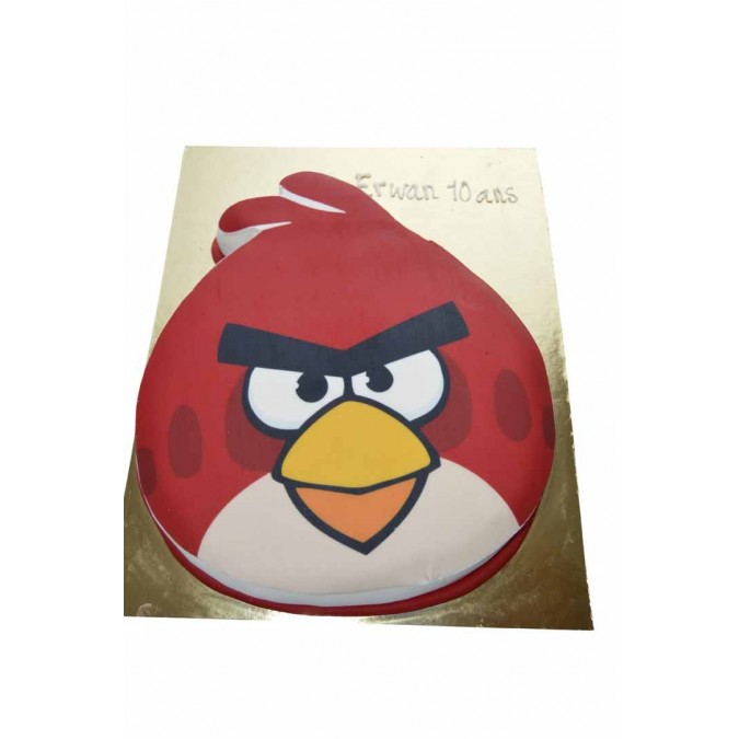 gâteau d'anniversaire Angry birds