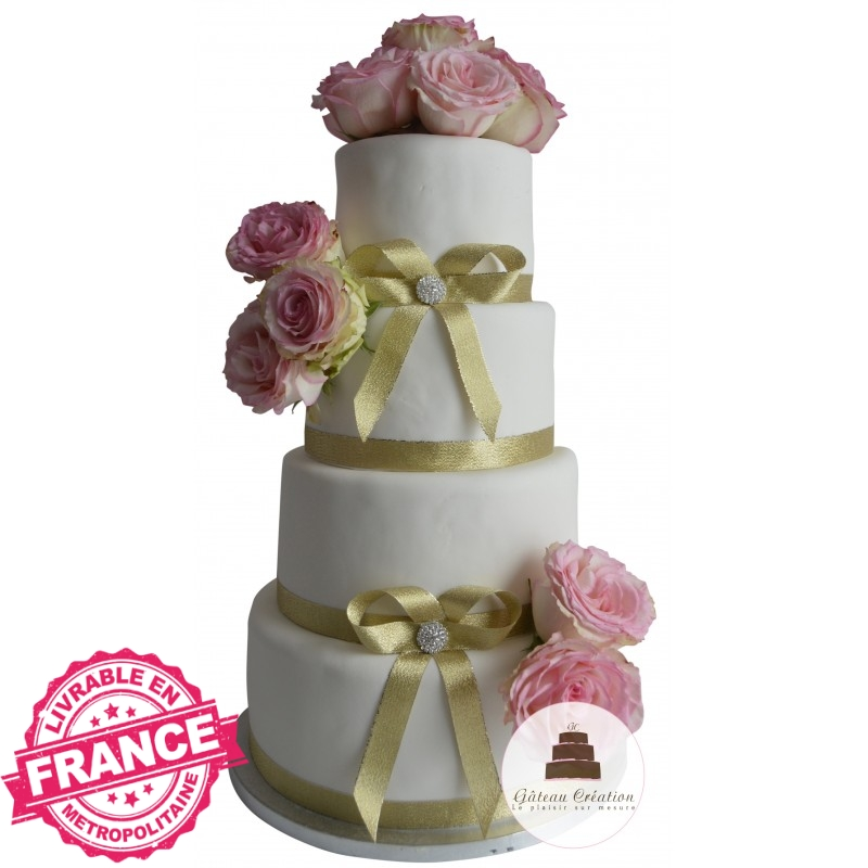 wedding cake pas cher